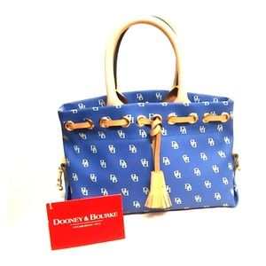 Dooney & Bourke Tiny Tassel Tote NWT